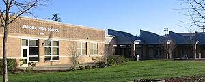 Tahoma Senior High School - The former Tahoma Senior High School building, since converted to Maple View Middle School.