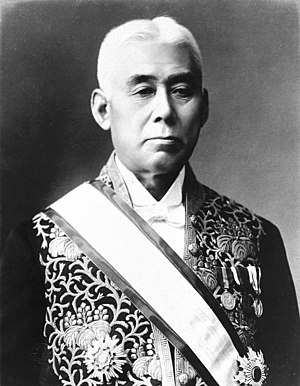 Hara Takashi - Hara dressed in court uniform