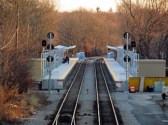 Fairmount Line - Talbot Ave was the first new station to open under the Fairmount line Improvements Project