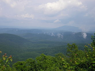 Pushmataha County, Oklahoma - The Kiamichi Mountains.