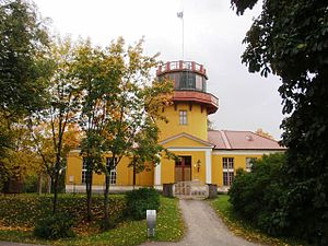 Struve Geodetic Arc - Tartu Old Observatory, the first point of the arc.