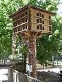 Taubenschlag und Schnullerbaum Wildpark Pforzheim.JPG