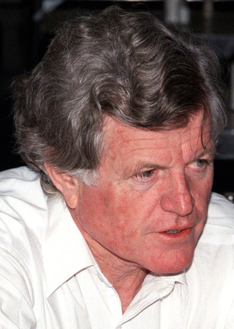 United States Senate election in Massachusetts, 1988 - Image: Ted Kennedy
