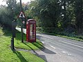 Telephone box at Hillersland - geograph.org.uk - 88534.jpg