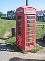 Telephone box at Milford Green - geograph.org.uk - 40708.jpg