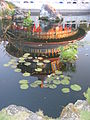 Temple at Epcot China in reflecting pool.JPG