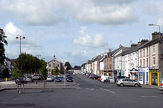 Templemore - Main Street including Town Hall