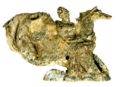 Terracotta relief of a nereid carrying a cuirass Sf2003176 white-bg.png