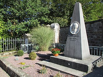 Louis Théodore Gouvy - Grave of Théodore Gouvy in Hombourg-Haut. France