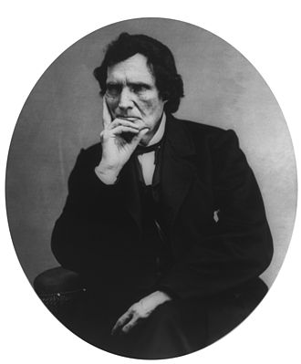 Thaddeus Stevens - Stevens in a thoughtful pose