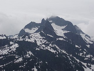 Five Fingers Group group of five peaks in British Columbia, Canada