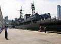 The Algerian navy ship, Soummam (937). July 9, 2012 in New York.jpg