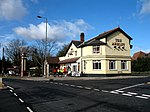 The Arkley Public house on the junction of Galley Lane and Barnet Road. It is a popular meeting point for cyclists out for a sunday jaunt.