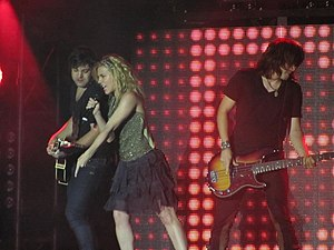 The Band Perry - The Band Perry performing in 2013