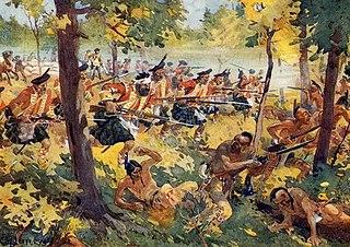 Battle of Bushy Run 1763 North American battle