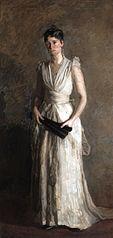 The Black Fan (Portrait of Mrs. Talcott Williams)