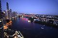 The Brisbane river and the Story Bridge at dusk (11260907525).jpg