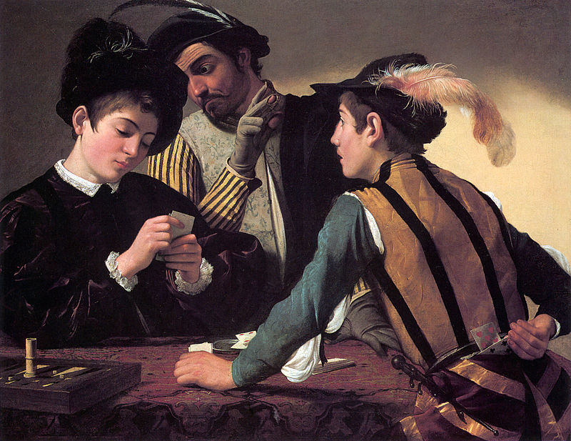 The Cardsharps by Caravaggio.jpg
