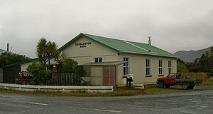 Charleston, New Zealand - The Charleston Goldfields Public Hall