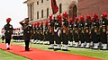 The Chief of Army Staff, Gen. V.K. Singh reviews the guard of honour on relinquishing the office, in New Delhi on May 31, 2012.jpg