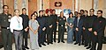 The Chief of Army Staff, General Bipin Rawat with the Officers of the Indian Defence Accounts Service, in New Delhi on June 27, 2018.JPG