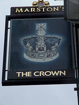The Crown pub sign - geograph.org.uk - 1323844