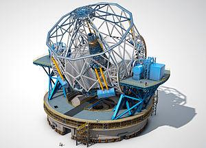 Extremely large telescope wikipedia bahasa indonesia ensiklopedia