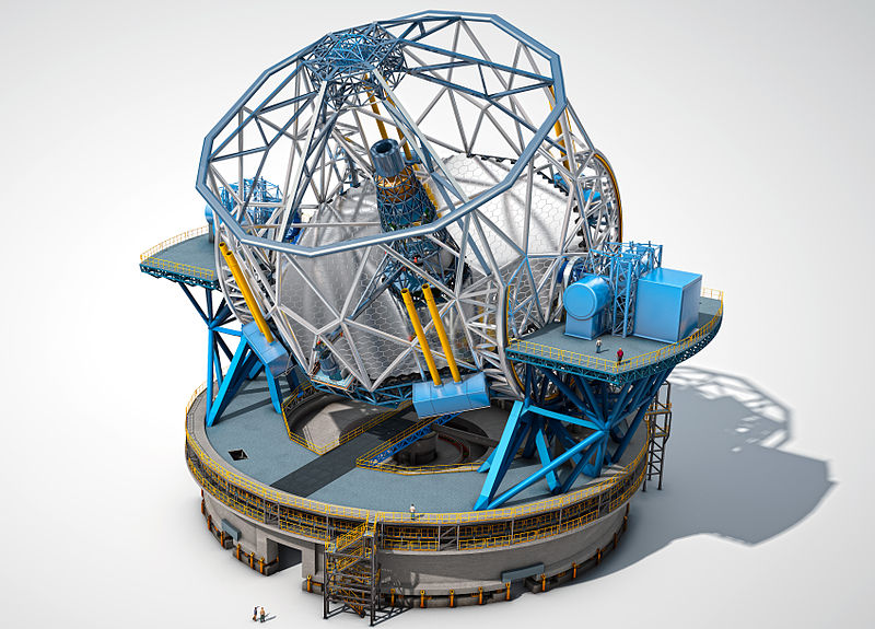 ファイル:The European Extremely Large Telescope.jpg
