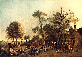 Paulus Potter - Image: The Farmyard 1649 Paulus Potter