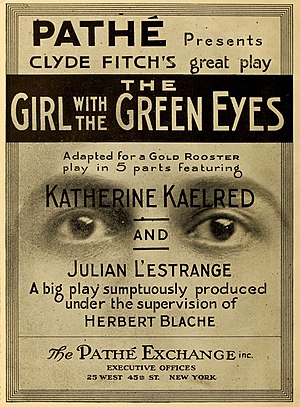 Clyde Fitch - The Girl With the Green Eyes (1916)