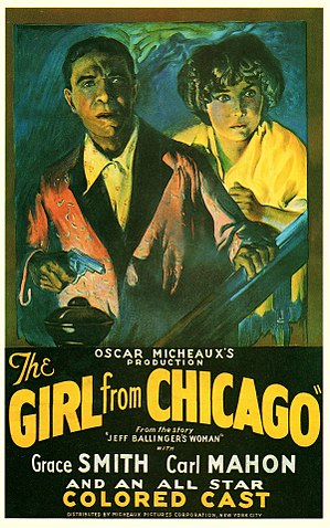 The Girl from Chicago - Film poster