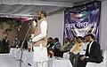 "The Minister of State for Home Affairs, Shri Hansraj Gangaram Ahir addressing the participants of the ""Khelo India School Games"" from Maharashtra, in New Delhi on February 07, 2018.jpg"