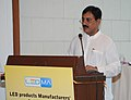 The Minister of State for Power, Shri Bharatsinh Solanki addressing at the inauguration of the LED Products Manufacturers Association (LEDMA), in New Delhi on September 22, 2010.jpg
