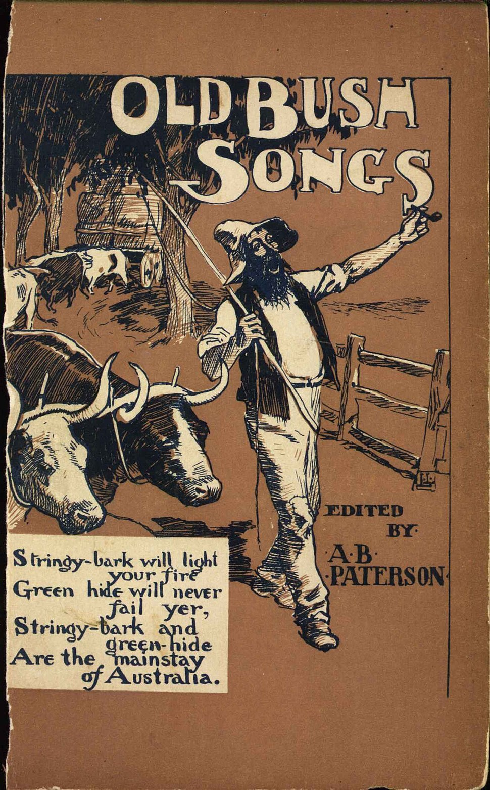 The Old Bush Songs by Banio Paterson