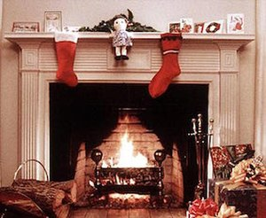 Yule Log (TV program) - A Christmas tradition in New York City is WPIX's yearly yule log program