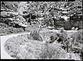 The Pine Creek Bridge. ; ZION Museum and Archives Image 002 01002 ; ZION 9458 (634ea3223b74404bba8a558240bd9347).jpg
