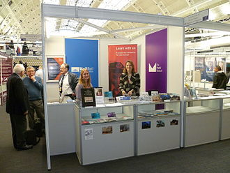 Postal Museum, London - The Postal Museum booth at Spring Stampex 2016.
