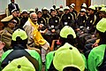 The Prime Minister, Shri Narendra Modi interacting with the ITBP excursion groups of students from Sikkim and Ladakh, in New Delhi on February 06, 2018.jpg