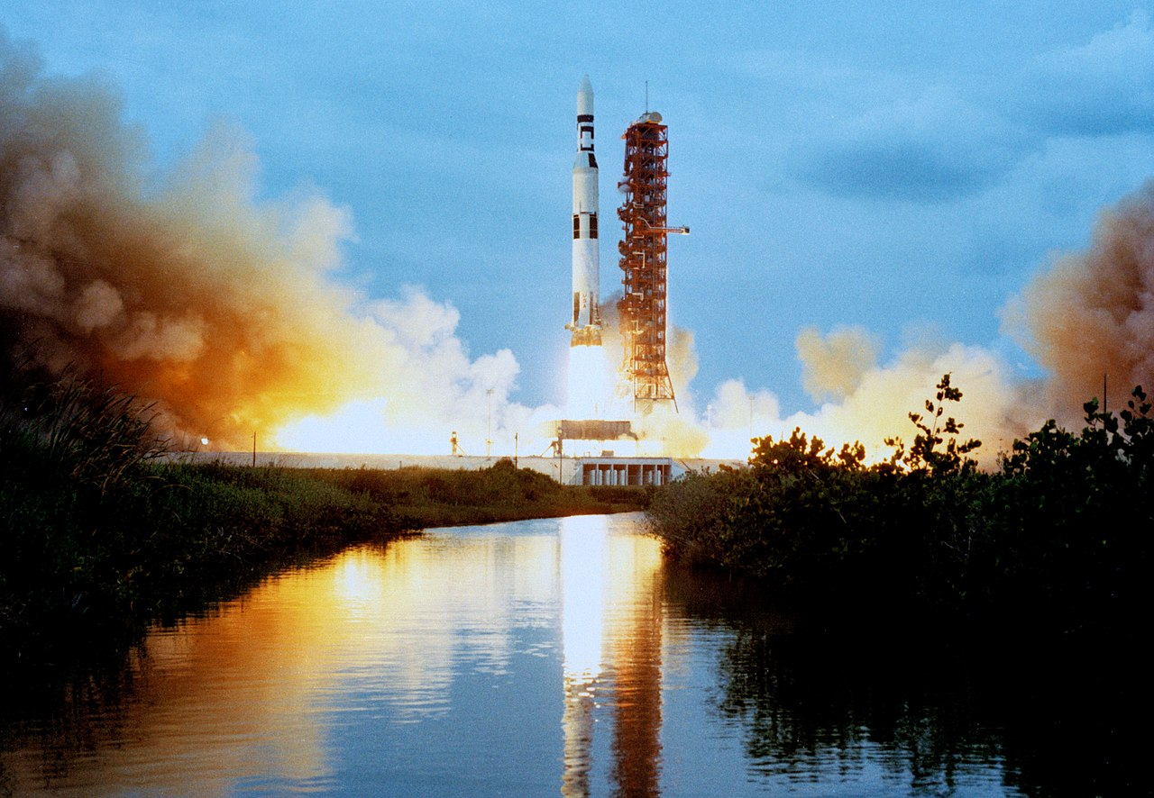 File The Skylab 1 Saturn V Space Vehicle Is Lifts Off From