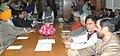 The Speaker, Lok Sabha, Shri Somnath Chatterjee holding an all party meeting at Lok Sabha, in New Delhi on December 10, 2008.jpg