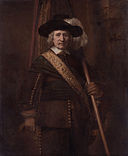 The Standard Bearer (Floris Soop, 1604–1657), by Rembrandt van Rijn.jpg