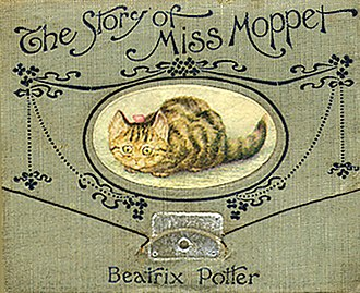 The Story of Miss Moppet - First edition cover