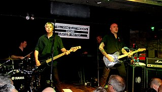 The Stranglers English punk rock music group
