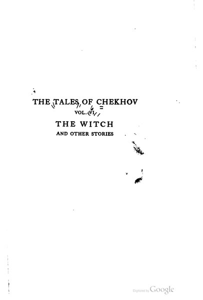 File:The Tales of Chekhov, vol. VI.djvu
