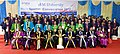 The Vice President, Shri M. Venkaiah Naidu with the faculty of SRM University on the occasion of Special Convocation 2017, in Chennai.jpg
