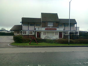The World's End (film) - The Gardeners Arms pub on the boundary of Letchworth was used as the shooting location for the final pub, the World's End