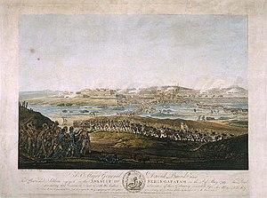 Siege of Seringapatam (1799) - The assault of Seringapatam