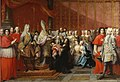 The baptism of prince Charles Edward Stuart, Rome 1720.jpg