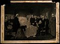 The death of John Wesley. Mezzotint by J. Sartain. Wellcome V0006950.jpg