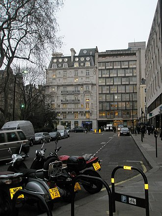 Hikma Pharmaceuticals - Hikma Pharmaceuticals' head office in Hanover Square in London (on the left)